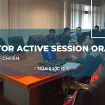 monitor active session oracle db